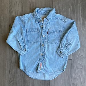 Levi's // Denim Shirt // Size 3T